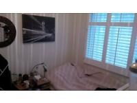 A wonderful single room ( £120 per week-all inclusive) SHORT LET-8 TO 16 WEEKS...