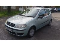 1.2fiat punto petrol manual 77000 mile history mot 8/5/17 hpi clear 12month aa cover 3 monthwarranty