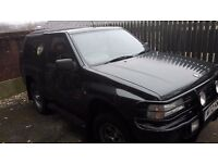 Vauxhall Frontera Excellent run about - cheap to run only £750 ono