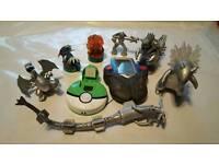 Various Pokemon Items