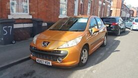 PEUGEOT 207 SPORT 87 MANUAL 9 MONTH MOT IN PERFECT CONDITION