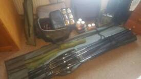 Carp fishing equipment