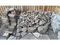 Free: brick rubble - plus some small rocks suitable for garden 'decoration'