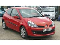 2008 RENAULT CLIO DYNAMIQUE TURBO PETROL MANUAL 57K FSH *CHEAPEST IN UK*