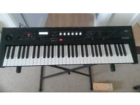 Korg PS60 61 Key Performance Synthesizer Keyboard - With power supply, damper pedal and stand!