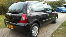 2008 RENAULT CLIO LOW MILEAGE FIRST CAR YEARS MOT 12CC