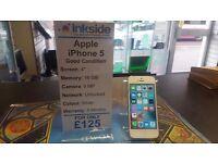 Apple iPhone 5 silver, Unlocked, Real Bargain