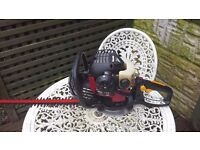 Homelite petrol hedge trimmer in excellent condition