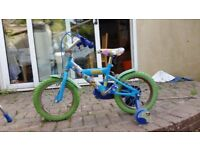 Boys (4-7 years) bicycle with balance for sale