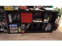 Two IKEA book shelf