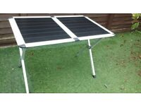 Table to use in awning or camping