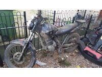 Honda 125 field bike