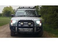 Land Rover discovery 3 commercial XS 07 plate cheap tax MANUAL