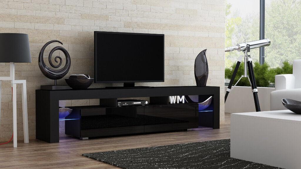 New High Gloss Modern Tv Stand Living Room Furniture