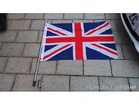 boat flag and pole
