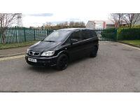 RARE Vauxhall Zafira 2.0 16V GSI TURBO BLACK EDITION 196 BHP, MPV, 96K, FHS