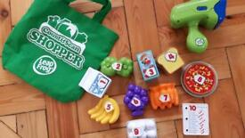 Leap frog count and scan shopper set.