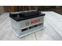BOSCH S3 CAR BATTERY 12 V 640 (EN) 70 AH FULLY WORKING