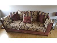 3 seater and lovers chair for sale