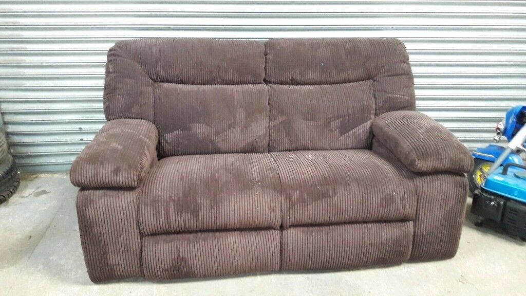 fabric cord sofa