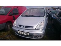 2003 CITROEN XSARA PICASSO DESIRE Z, 1.6 PETROL, BREAKING FOR PARTS ONLY, POSTAGE AVAILABLE