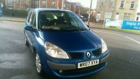 2007 Renault scenic 1.6 mot october 2018 6 speed with service history