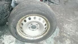Vivaro traffic primaster spare wheel