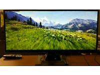 "AOC 34"" U3477Pqu Quad HD IPS LED Monitor with MHL"