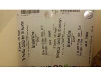 2 x fratellis tickets for Glasgow dec 10th