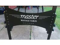 Portable master massage table