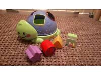 Fisher price shape toys + a free fun drawing