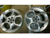Alfa Romeo 147/156 - 17in Alloy wheels x2