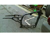 Harley Davidson sport bike frame