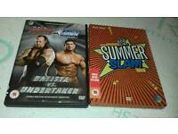 WWE DVD limited edition steelbook