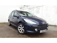 2006 Peugeot 307 1.6 HDI S Estate 1 FORMER FULL MOT Turbo Diesel PUG CHEAP Family 206 Citroen C5 C4