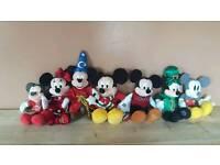 Disney Mickey and Minnie mouse teddies