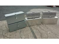 Galvanised and aluminium toolboxes for trailers and lorries recovery trucks transporter quad car atv