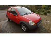 Red Ford KA, MOT until December