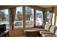 STATIC CARAVAN FOR SALE- WILLERBY NEW HAMPTON 2012 AT WEMYSS BAY HOLIDAY PARK