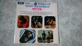 Burt Bacharach pre-owned LP