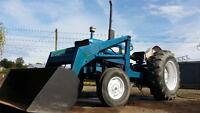 tractor for sale Ford 4000 diesel with Loader $ 7900 obo