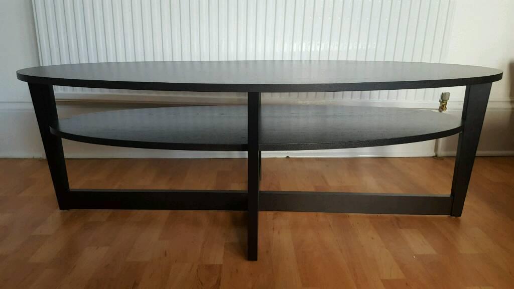 Ikea Vejmon Coffee Table Black Brown 140x66cm In Shawlands Glasgow Gumtree