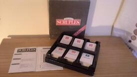 Scruples Board Game 2nd Addition
