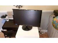 """AOC e2243Fw 21.5"""" Monitor GOOD CONDITION VERY SLIM"""