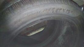 225/50/17 pirelli sottozero winter runflats tyres