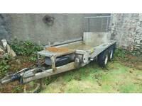 2011 ifor willams gx84g 2700 kg plant trailer no vat