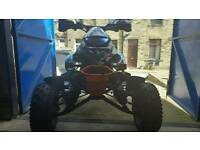 Road quad can am not raptor ltz ltr
