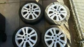 "Vauxhall 5 stud 16"" alloy wheels (Astra Corsa sigma vectra )"