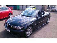 2004 (54) CONVERTIBLE BMW 318 I SPORTS AUTO 2.0L COUPE BLACK JUNE 2018 MOT 90K F/S/HISTORY CD ALLOYS