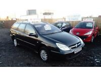 2002 52 CITROEN C5 ESTATE 2.0 HDI 6 SPEED FULL MOT GREAT EXAMPLE FAMILY CAR £595
